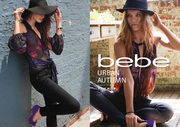 Осенний лукбук Urban Autumn от Bebe