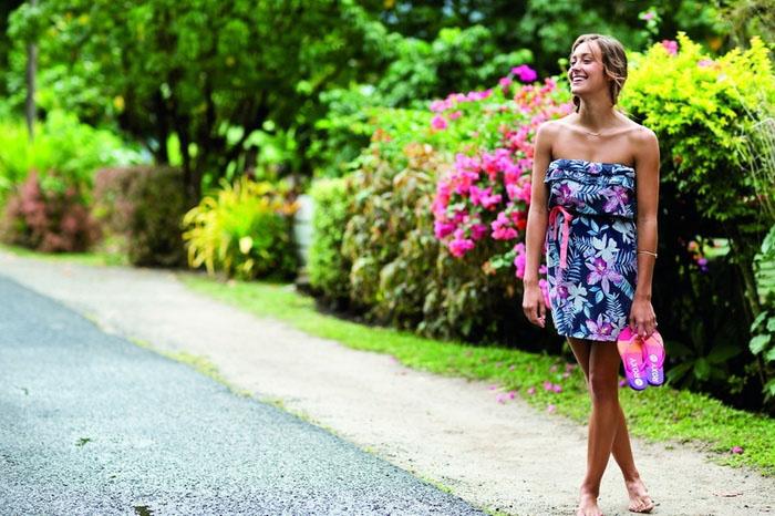 Новая весенне-летняя коллекция одежды Roxy