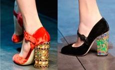 Стильная обувь осенне-зимнего сезона