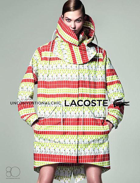 Карли Клосс в новой кампании Lacoste