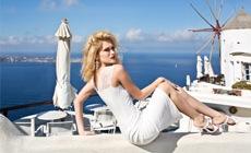 Яна Недзвецкая представила в Греции новую коллекцию