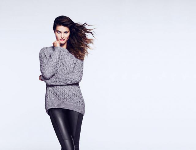 Исабели Фонтана демонстрирует осенние образы H&M