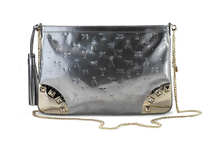Линия сумок Patrizia Pepe из зеркальной кожи