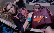 Первые промо-кадры  круизной коллекции  Prada