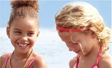 Пляжные модели для девочек