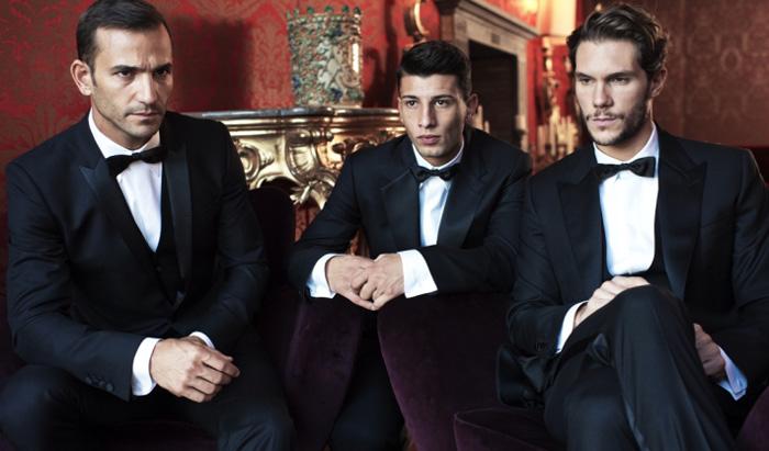 Строгие смокинги Dolce & Gabbana