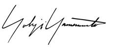 Yohji Yamomoto