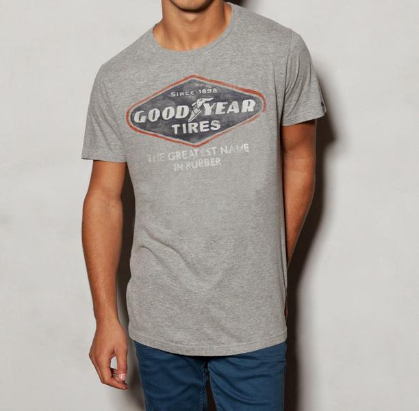 Goodyear и Pull&Bear запускают  серию футболок