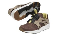 PUMA Leather Disc Cage �Cork� Pack