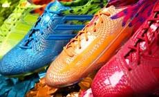 Adidas представляет три новые пары бутс