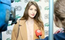 Анна Чиповская и другие гости на юбилее Lacoste в ГУМе
