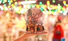 Новогодний базар в Tsvetnoy central market