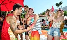 Вечеринка Guess в рамках фестиваля Coachella
