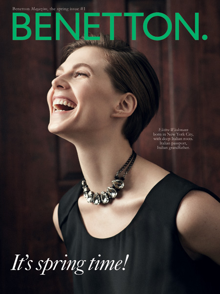 Весенний выпуск журнала Benetton
