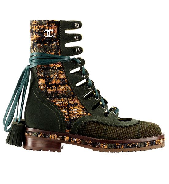 Вещь недели: ботинки Chanel