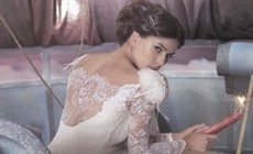 Свадебная линия кружевных платьев Olvis в ТЦ Гименей