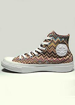 Converse украшает фирменный зигзаг Missoni