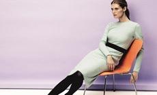 Малгосия Бела в рекламной кампании Escada