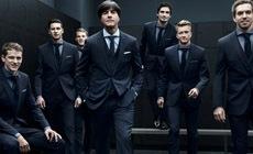 Национальная футбольная команда Германии одета в Boss