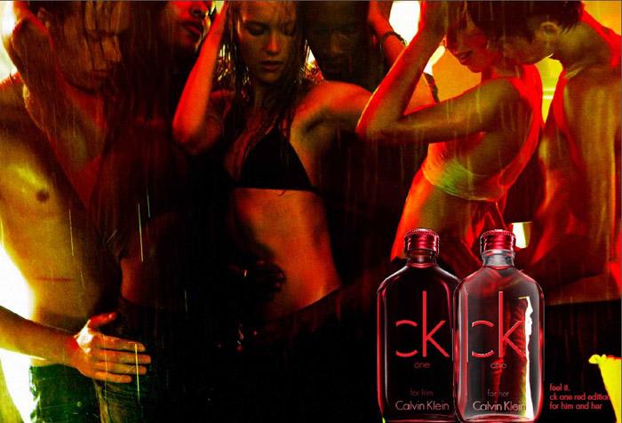 Представляем новые парные ароматы CK One Red Edition