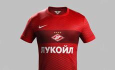 Новая форма ФК «Спартак-Москва» от Nike