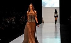 Обувь для показа в рамках Mercedes-Benz Fashion Week Russia