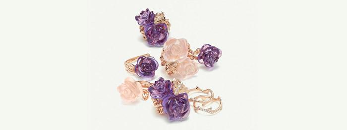 Ювелирная коллекция Rose Dior Pre Catelan
