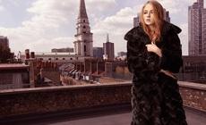 Софи Тернер в рекламе Karen Millen