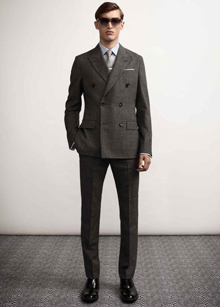 Louis Vuitton представили коллекцию мужских костюмов