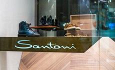 Открытие бутика Santoni в галерее «Времена года»