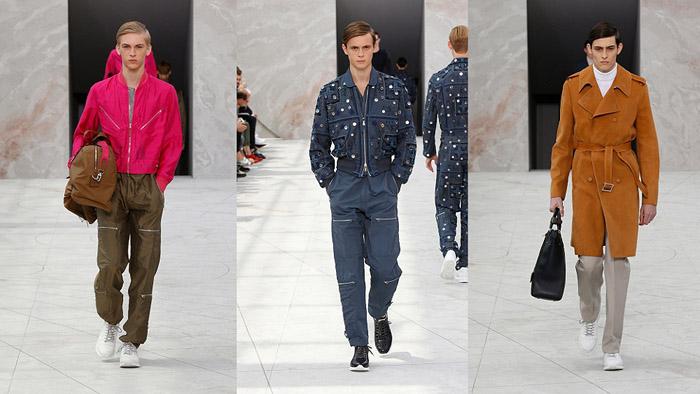 Показ мужской коллекции Louis Vuitton