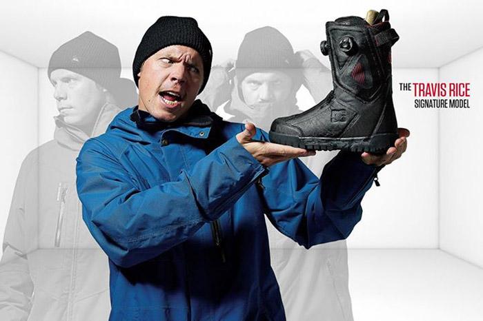 Про-модель ботинок DC Трэвиса Райса