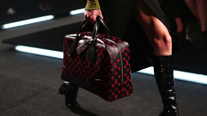 Детали шоу-показа Louis Vuitton