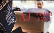 Armani Jeans предлагает персональную гравировку