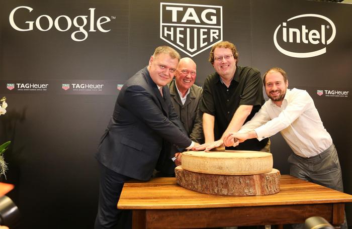 TAG Heuer, Google и Intel объявили о создании «умных» часов