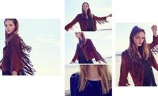 Лукбук женской коллекции одежды Bershka