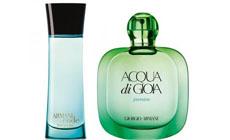 Giorgio Armani представляет  два новых аромата