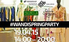В ТЦ «Европейский» состоится Wandi Spring Party