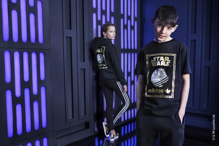 Adidas Originals представляет детскую линейку Death Star