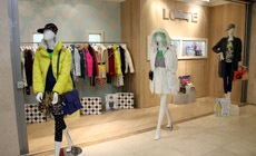 Открытие pop up store Lotte Fashion в Москве