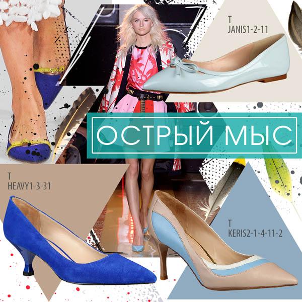 Ключевые тренды весенне-летней коллекции обуви Tervolina