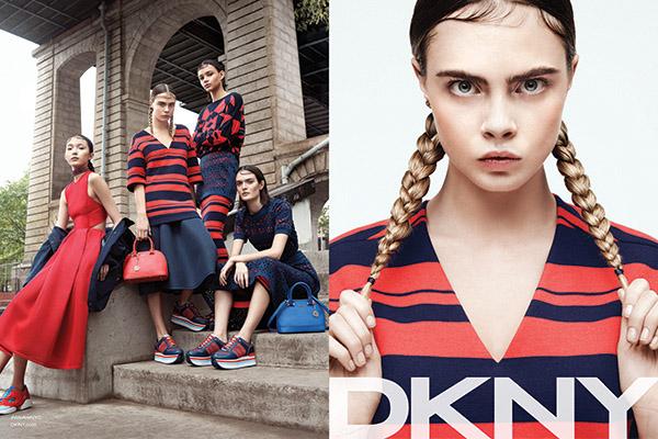 Весенняя коллекция  в магазине DKNY в ГУМе