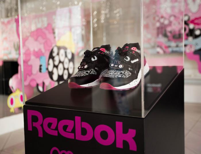 Лимитированная версия кроссовок Reebok Ventilator x Yeka Hask