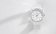Новые женские часы Bell & Ross BRS Camouflage