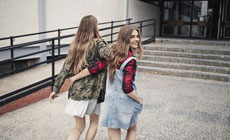 Осенняя коллекцию Bershka «Back to school»