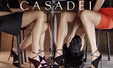 Коллекция вечерних босоножек Casadei Velvet