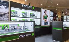 Новый бутик Certina в ТД «Дружба»