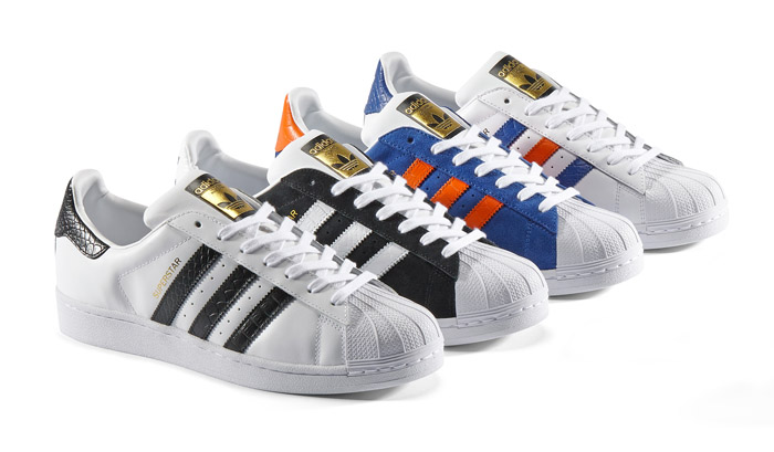 Линейка кроссовок adidas Originals Superstar East River Rivalry