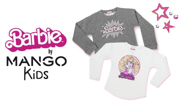 Детская коллаборация Barbie x Mango Kids
