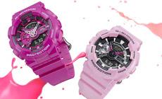 Коллекция часов G-SHOCK S SERIES в магазинах Casio